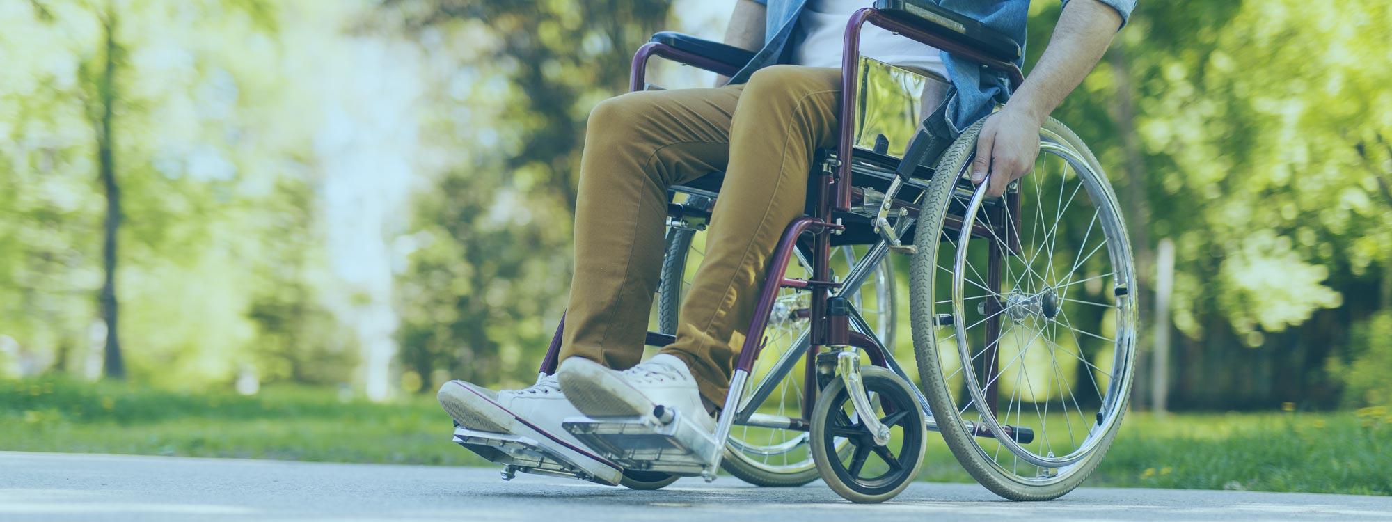 Deckenlift für Rollstuhlfahrer